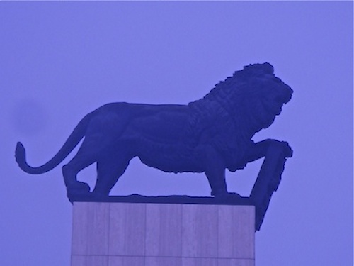 for the Luzern Lion with the roots in Bratislava