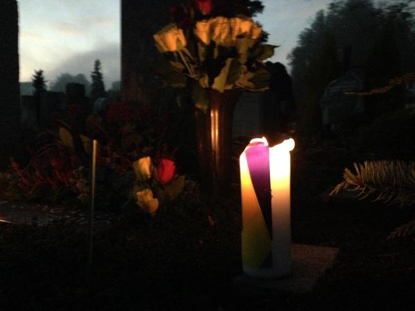 Easter Candle on Allerheiligen